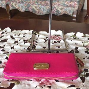 Michael Kors Bags - Michael kors pebbled leather zip around wallet